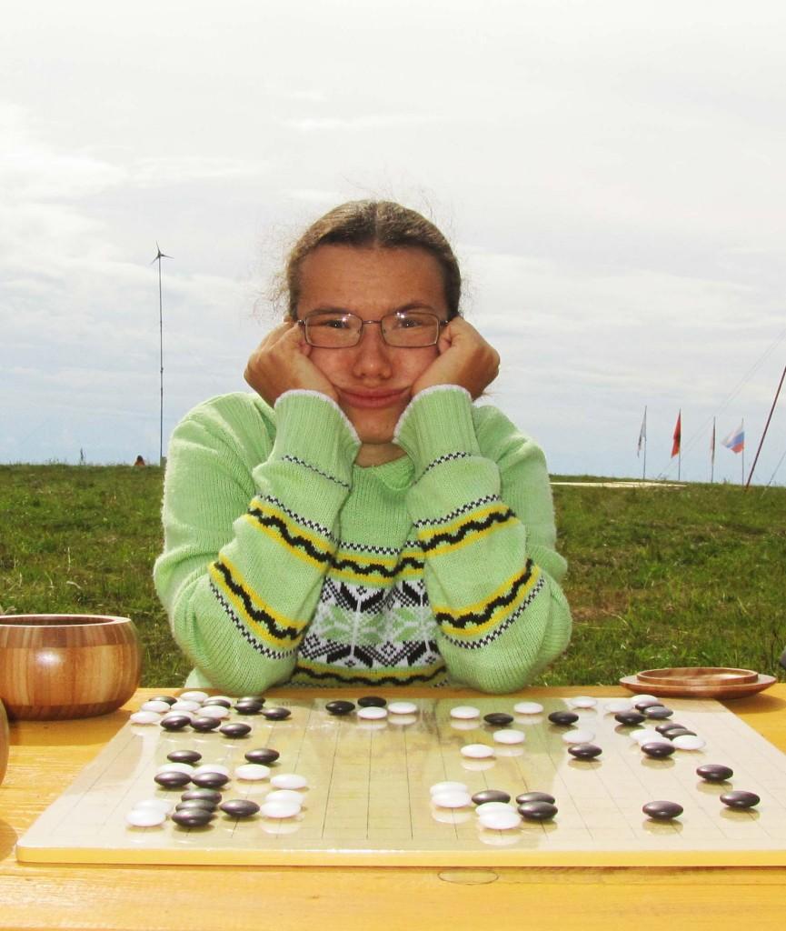 Светлана Вахитова на турнире городов на Оби