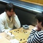 Тимофей Арсенов играет с участницей из Германии