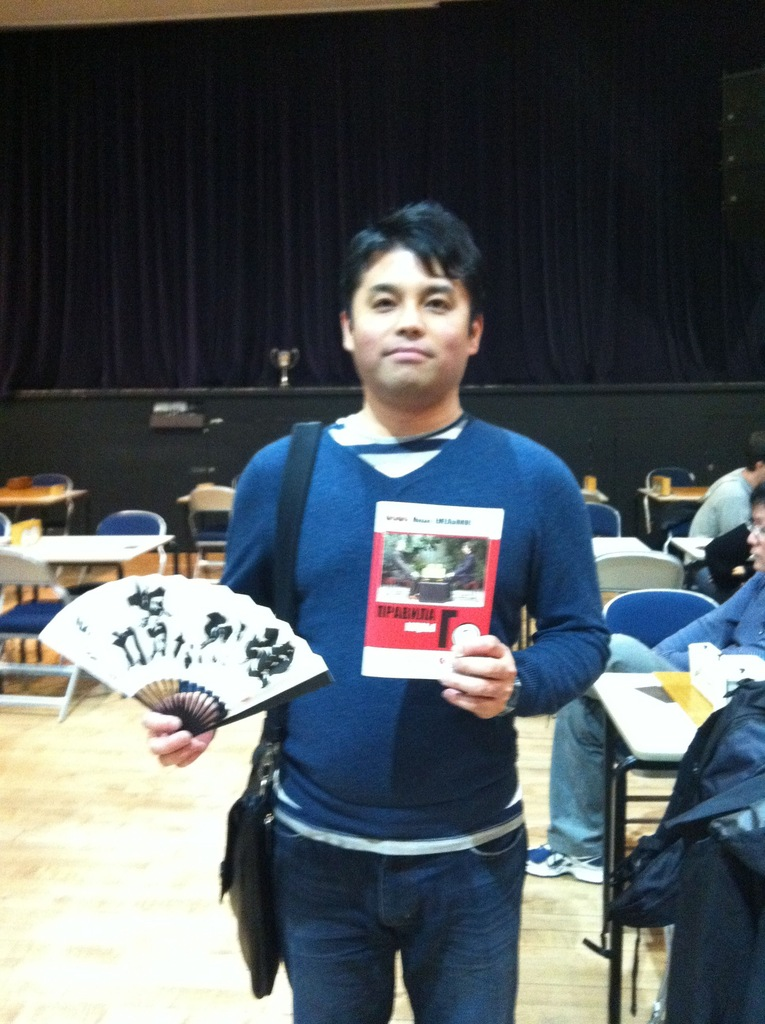 Томотака Урасоэ, глава международного отдела Нихон-Ки-ин