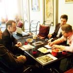 На встрече интеллектуальных федераций
