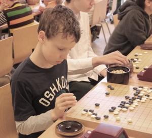 ребята поиграли на исторических комплектах из Японии (коллекция Михаила Емельянова)